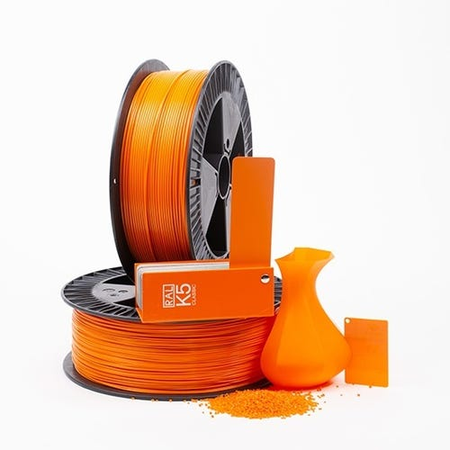 PLA 200002 Bright red orange RAL 2008 1.75 / 2000