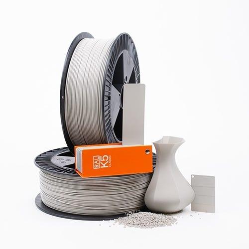 PLA 700009 Silk grey RAL 7044 1.75 / 2000