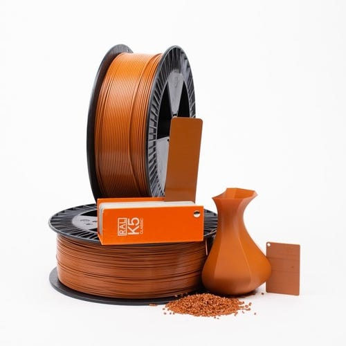 PLA 800007 Orange brown RAL 8023 1.75 / 2000