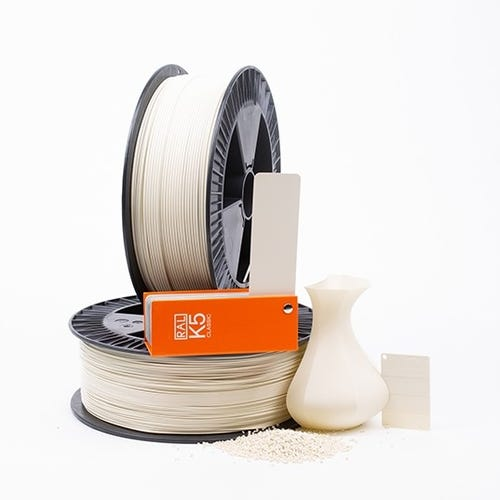 PLA 100002 Oyster white RAL 1013 1.75 / 750