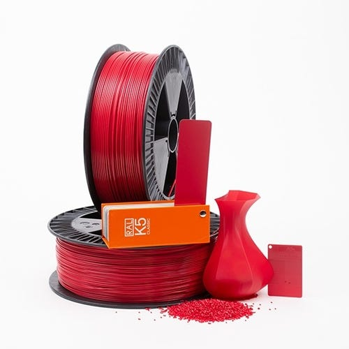PLA 300001 Raspberry red RAL 3027 1.75 / 750