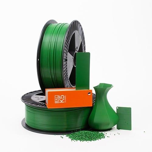 PLA 600003 Emerald green RAL 6001 1.75 / 750