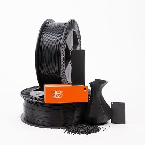 PLA 700004 Black grey RAL 7021 1.75 / 750