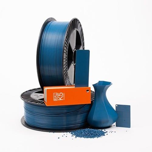 PLA 500010 Azure blue RAL 5009 1.75 / 750