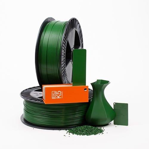 PLA 600012 Leaf green RAL 6002 1.75 / 750