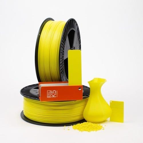 PLA 100005 Sulfur yellow RAL 1016 1.75 / 750