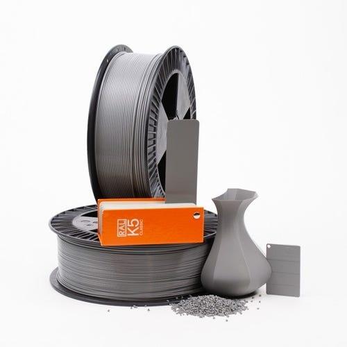 PLA 700024 Dusty grey RAL 7037 1.75 / 750