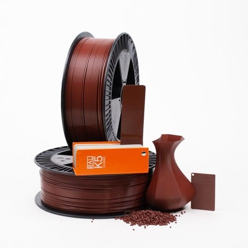PLA 800005 Red brown RAL 8012 1.75 / 750