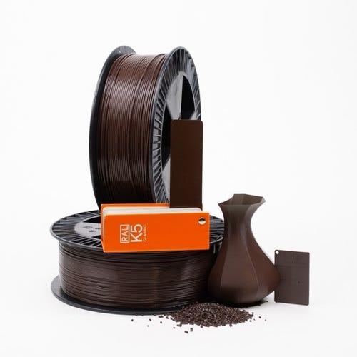 PLA 800006 Chocolate brown RAL 8017 1.75 / 750