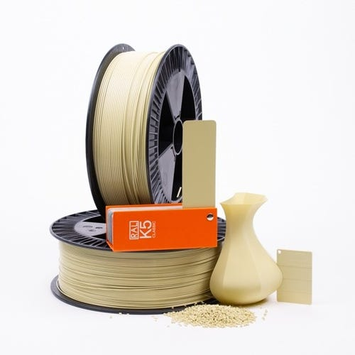 PLA 100007 Green Beige RAL 1000 1.75 / 2000