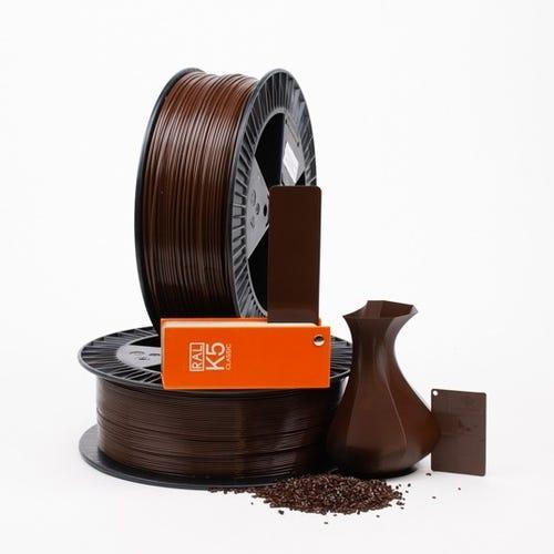 PLA 800008 Mahogany brown RAL 8016 1.75 / 750