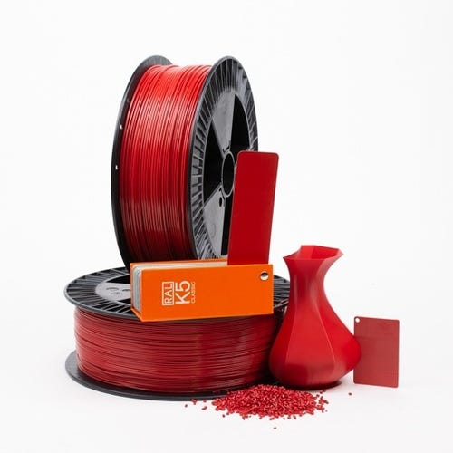 PLA 300005 Flame red RAL 3000  1.75 / 750