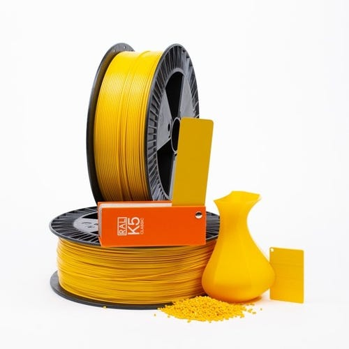 PLA 100009 Golden yellow RAL 1004  1.75 / 2000