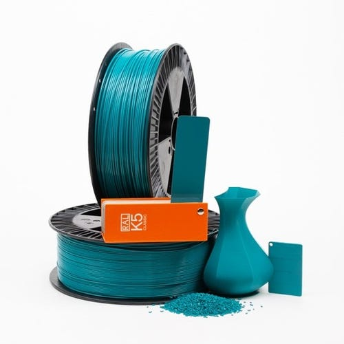 PLA 500014 Water blue RAL 5021  1.75 / 2000
