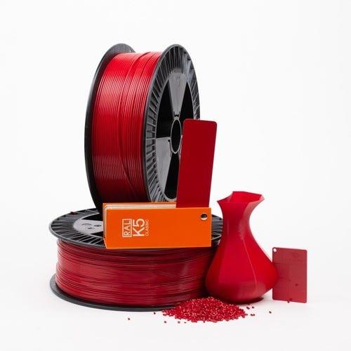 PLA 300008 Carmine red RAL 3002 1.75 / 2000