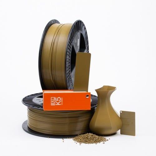 PLA 800009 Green brown RAL 8000 1.75 / 750