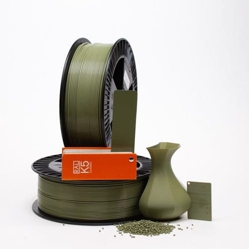 PLA 600014 Reed green RAL 6013 1.75 / 750