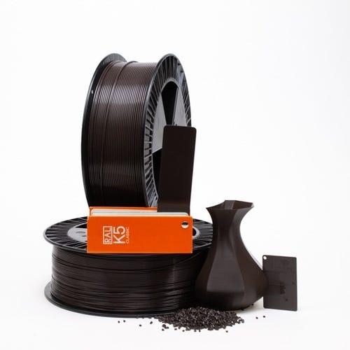 PLA 800012 Grey brown RAL 8019 1.75 / 2000