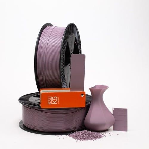 PLA 400009 Pastel violet RAL 4009 1.75 / 750