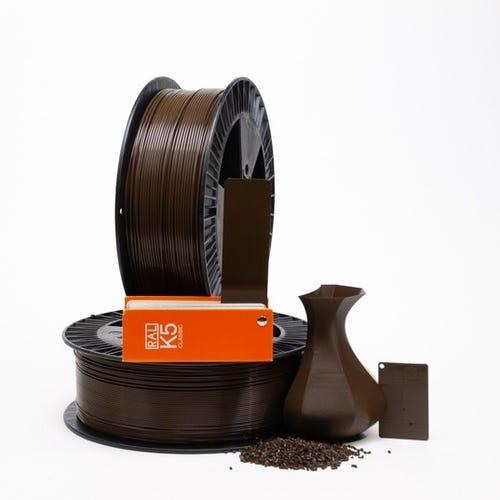 PLA 800013 Sepia brown RAL 8014 1.75 / 2000