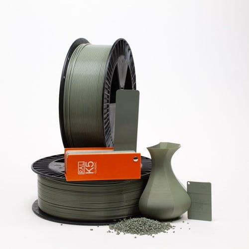PLA 700029 Cement grey RAL 7033 2.85 / 750