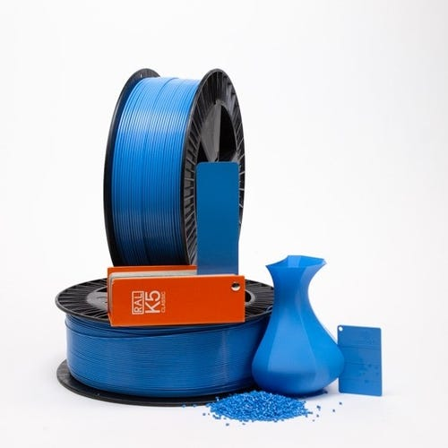 PLA 500020 Light blue RAL 5012 1.75 / 750