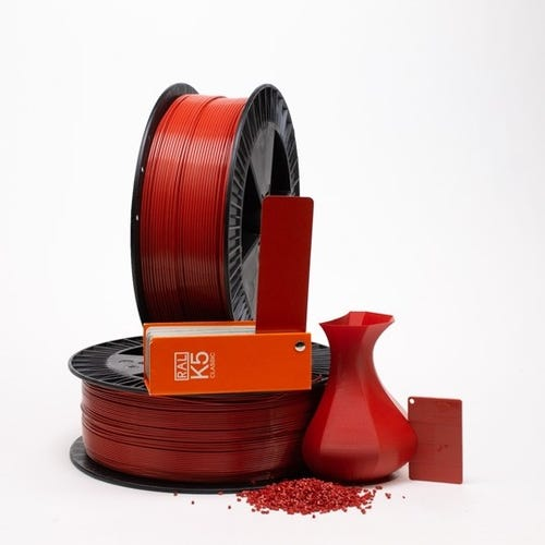 PLA 300010 Coral red RAL 3016 1.75 / 2000