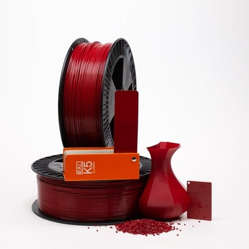 PLA 300011 Ruby red RAL 3003 2.85 / 750