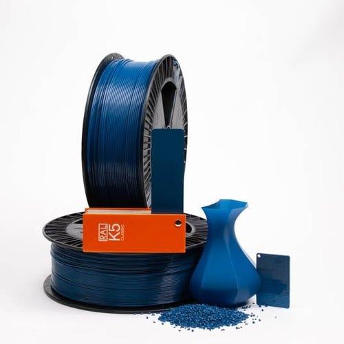 PLA 500021 Green blue RAL 5001  1.75 / 750
