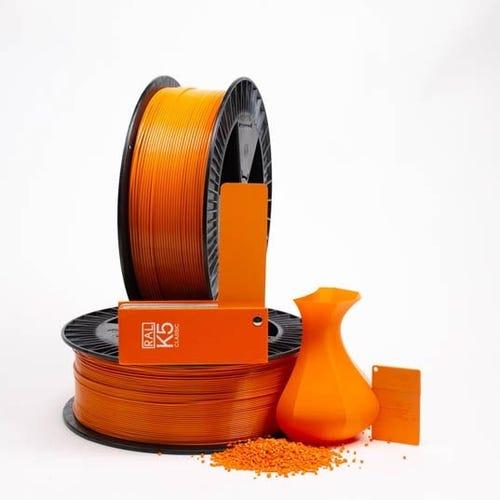 PLA 200009 Deep orange RAL 2011  1.75 / 2000
