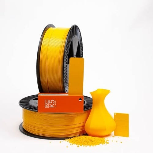PLA 100018 Dahlia yellow RAL 1033 1.75 / 750