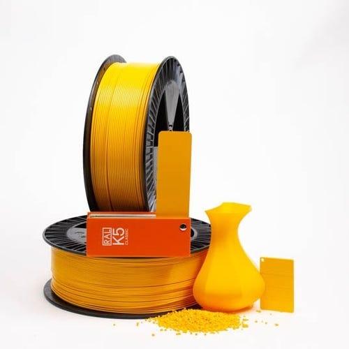 PLA 100018 Dahlia yellow RAL 1033 2.85 / 750