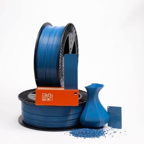 PLA 500022 Brilliant blue RAL 5007 1.75 / 750