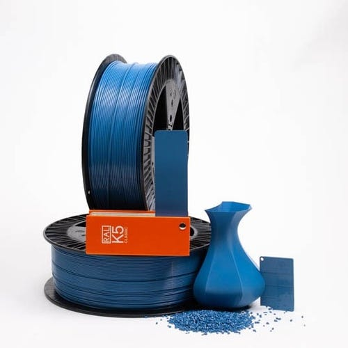 PLA 500022 Brilliant blue RAL 5007 1.75 / 2000