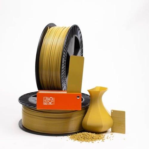 PLA 100020 Ochre yellow RAL 1024 1.75 / 750