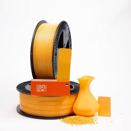 PLA 100022 Saffron yellow RAL 1017 1.75 / 750
