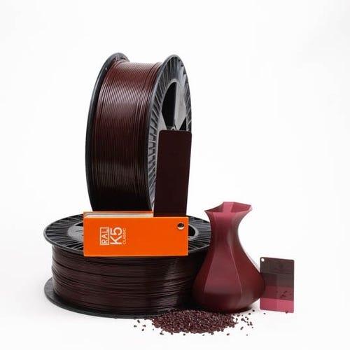 PLA 300016 Black red RAL 3007 1.75 / 750