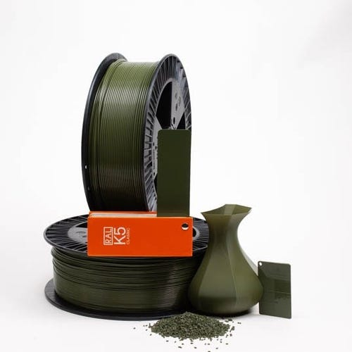 PLA 600020 Olive green RAL 6003 1.75 / 750