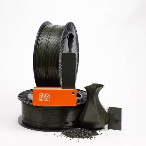 PLA 600023 Black olive RAL 6015 1.75 / 750