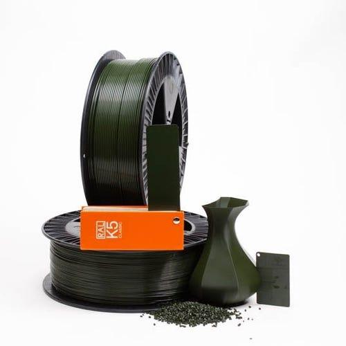 PLA 600029 Bottle green RAL 6007 1.75 / 750