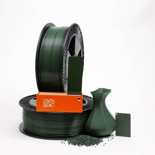 PLA 600030 Chrome green RAL 6020 1.75 / 2000