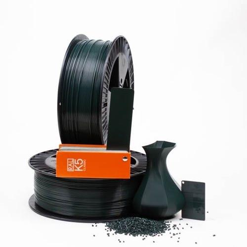 PLA 600032 Black green RAL 6012 1.75 / 2000
