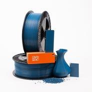 Azure blue RAL 5009 _ PLAQUE