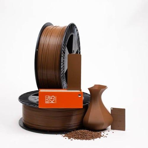 Beige brown RAL 8024 _ PLAQUE