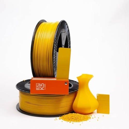 Broom yellow RAL 1032 PLAQUE