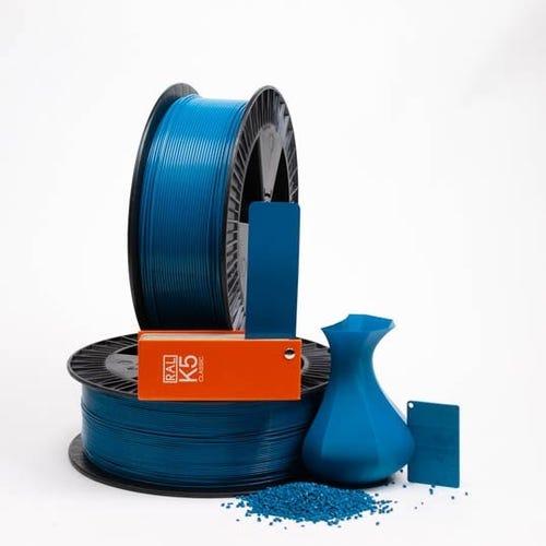 Capri blue RAL 5019 PLAQUE
