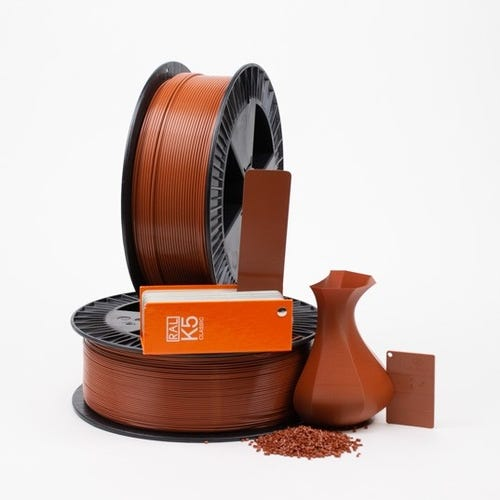 Copper brown RAL 8004 _ PLAQUE