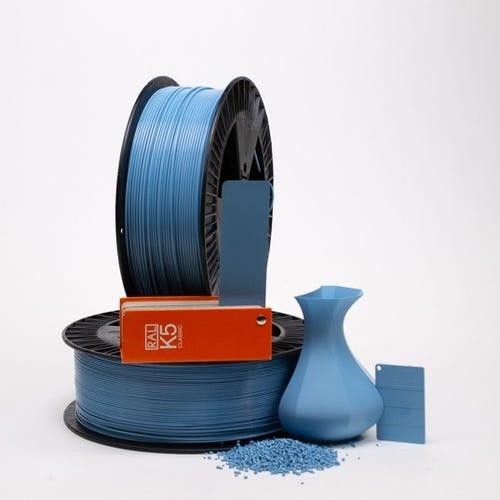 Pastel blue RAL 5024 _ PLAQUE