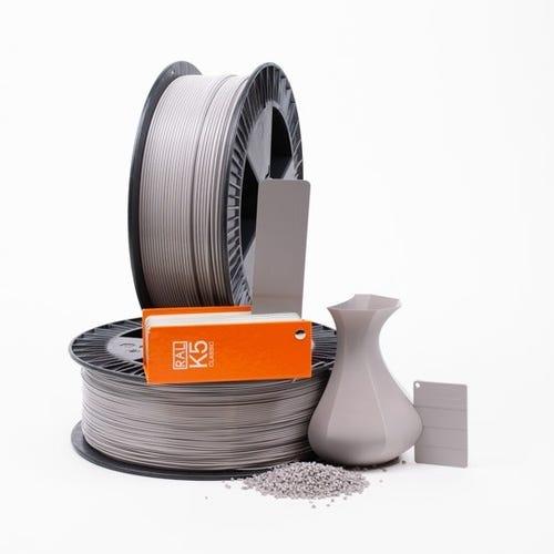 Platinum grey RAL 7036 _ PLAQUE