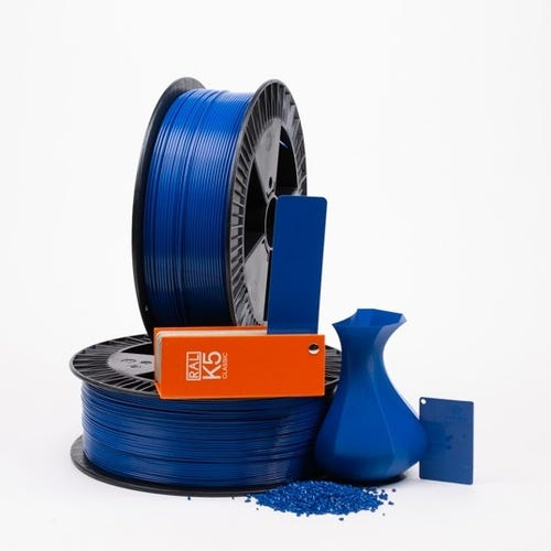 Traffic blue RAL 5017 _ PLAQUE